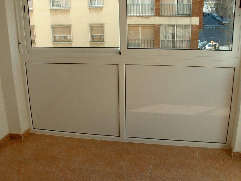 Carpinteria metalica aluminio carpinteria aluminio barcelona - Cerramiento de balcon ...