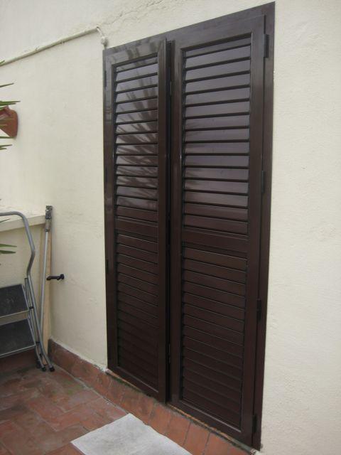 Mallorquinas aluminiocarpinteria aluminio barcelona - Puertas mallorquinas ...