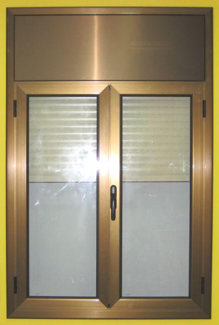 Ventanas aluminio carpinteria aluminio barcelona for Ventanas de aluminio color bronce