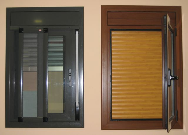Ventanas aluminio carpinteria aluminio barcelona for Colores ventanas aluminio lacado